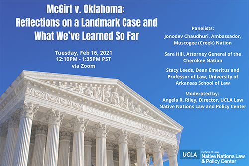 McGirt v. Oklahoma: Reflections on a Landmark Case and What We've Learned So Far