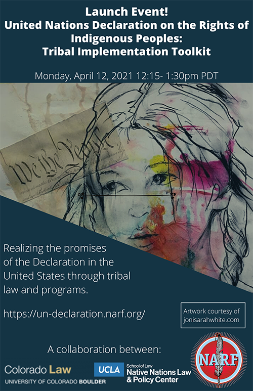 Poster from United Nations Declaration on the Rights of Indigenous Peoples: Tribal Implementation Toolkit