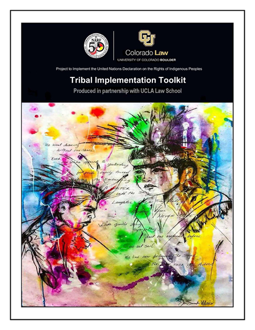 The cover of United Nations Declaration on the Rights of Indigenous Peoples: Tribal Implementation Toolkit