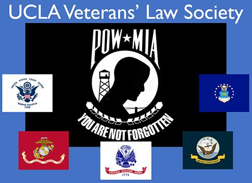 UCLA Veteran's Law Society logo