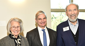 Shirley Shapiro, Eric Zolt and Ralph Shapiro '58.