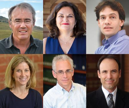 Six UCLA Law Professors who received faculty chair appointments