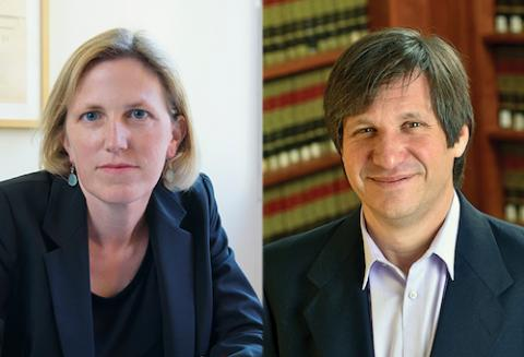 UCLA Law Professors Kimberly Clausing and Maximo Langer