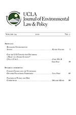 Journal of Environmental Law and Policy