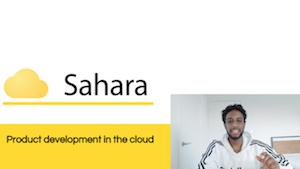 The student-run tech startup Sahara won first place in the 2020 LMI-Sandler Prize competition.