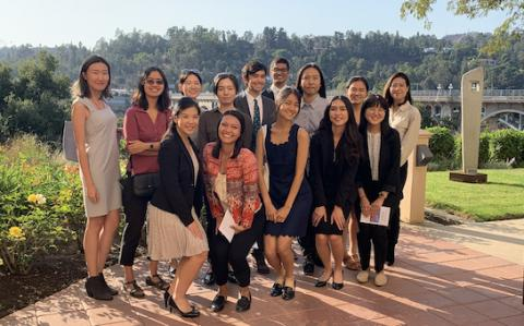 Members of APILSA at UCLA Law visited the Ninth Circuit courthouse in Pasadena